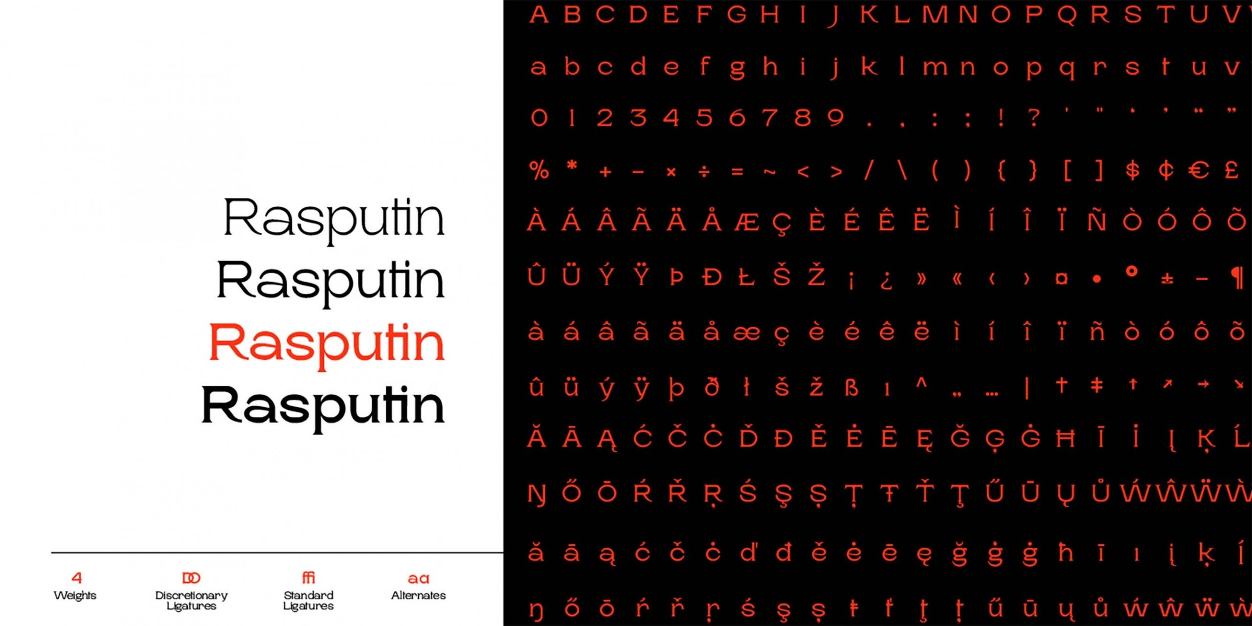Rasputin Serif Font 6