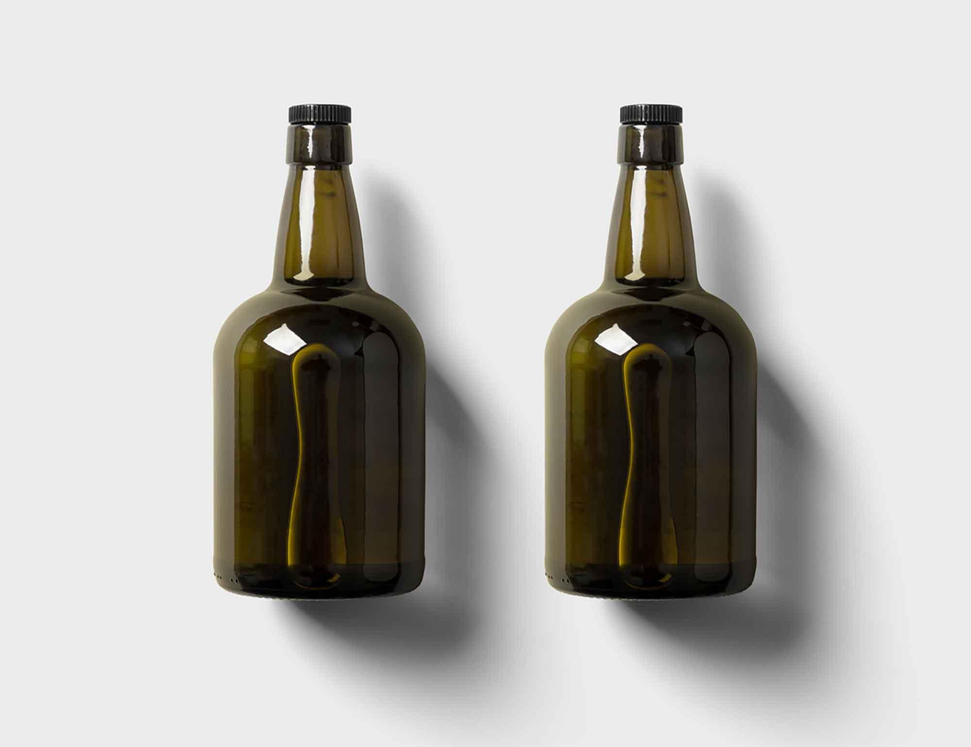 Rum Bottle Mockup 2