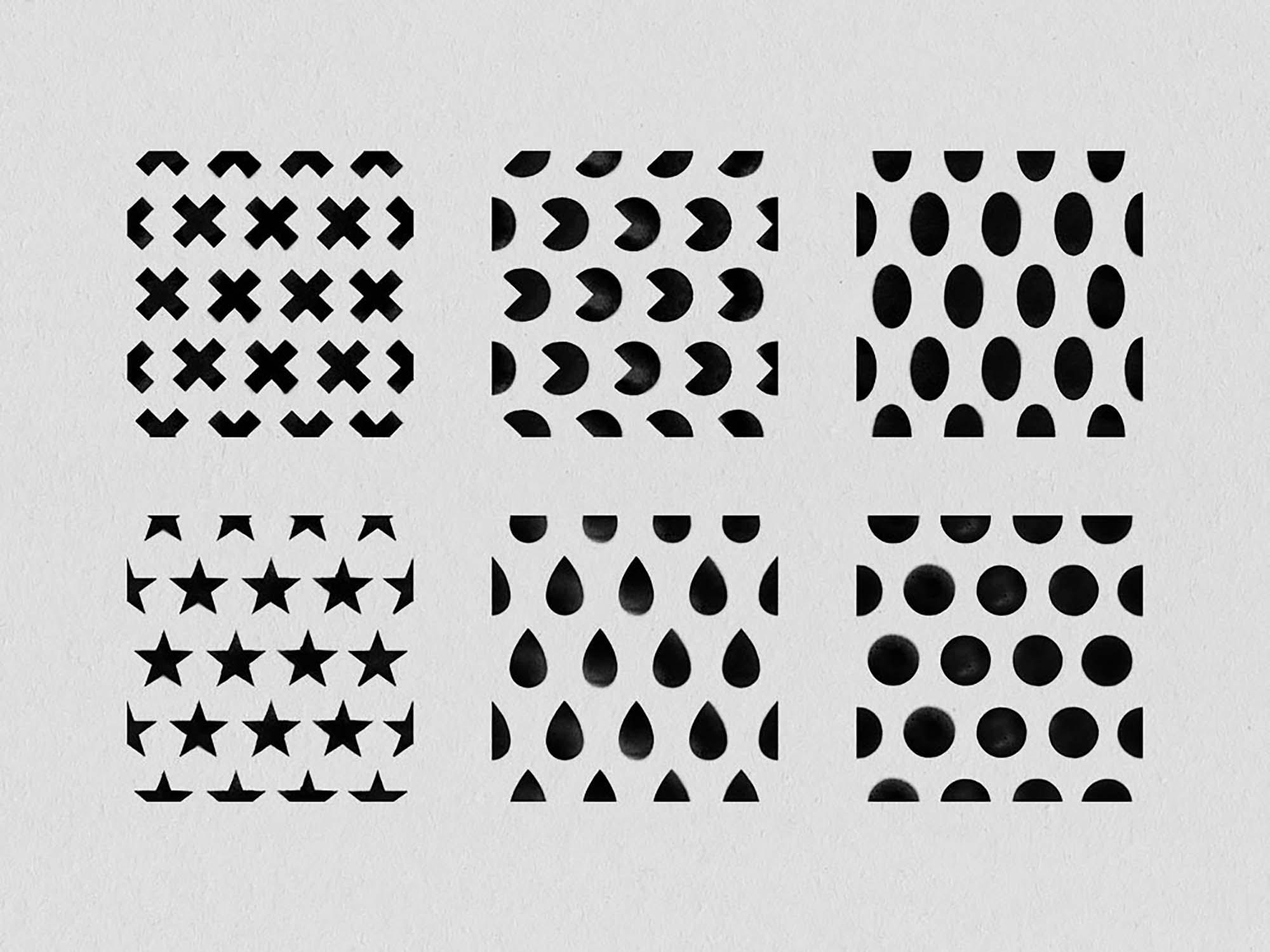Spray Seamless Patterns