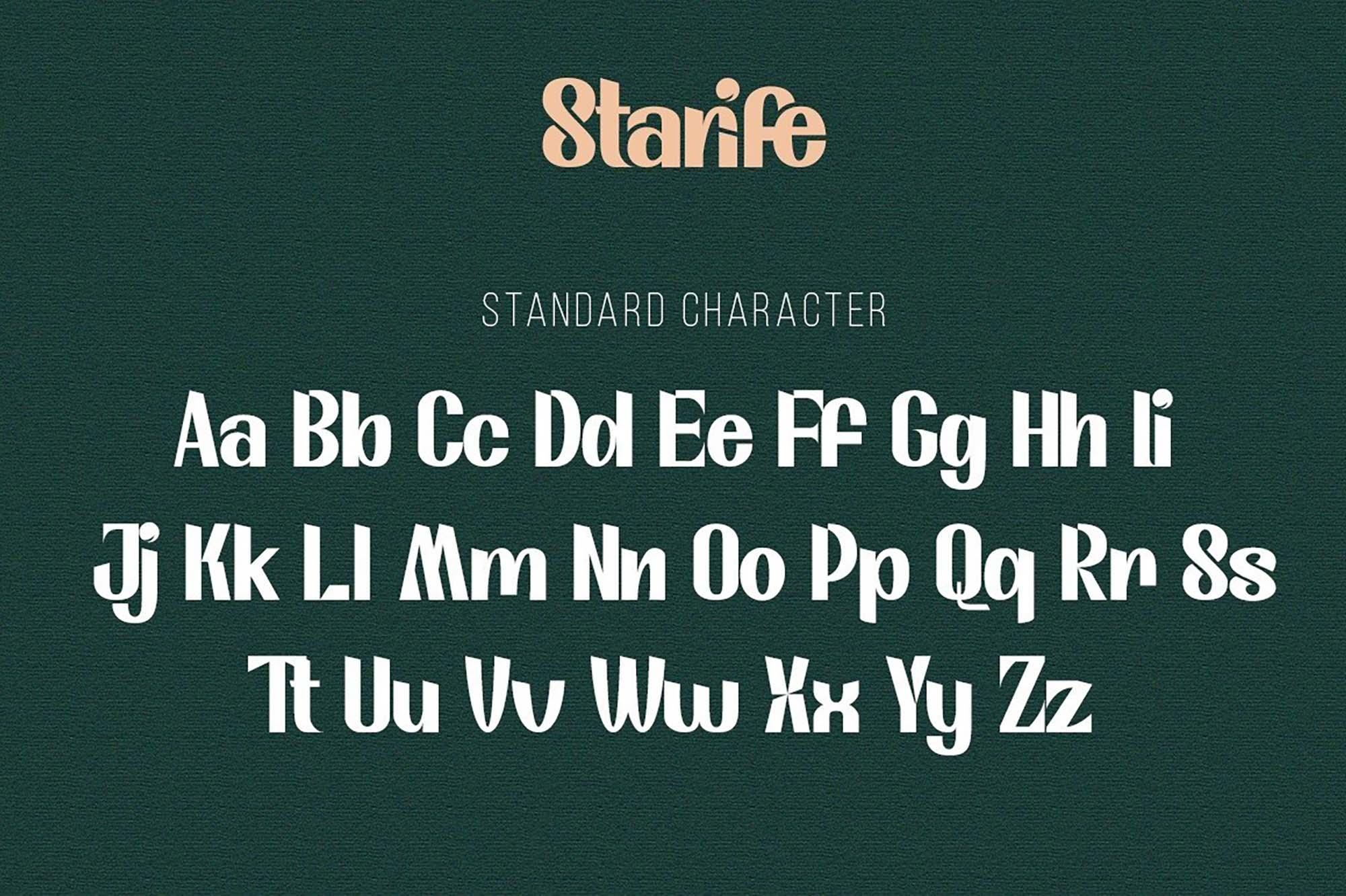 Starife Display Font 2
