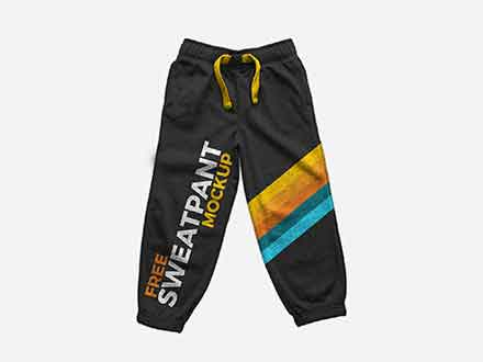 Sweatpants Mockup