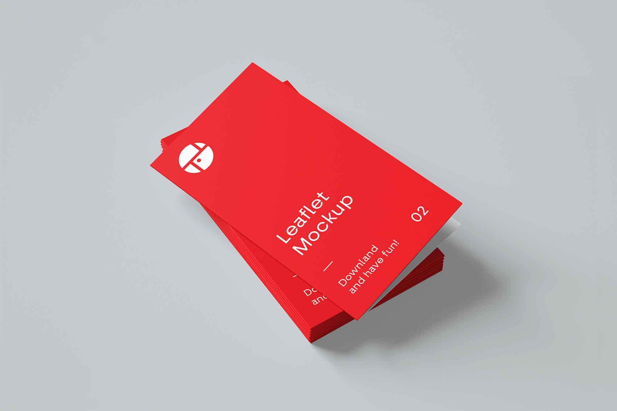 Two Fold Brochure Mockup