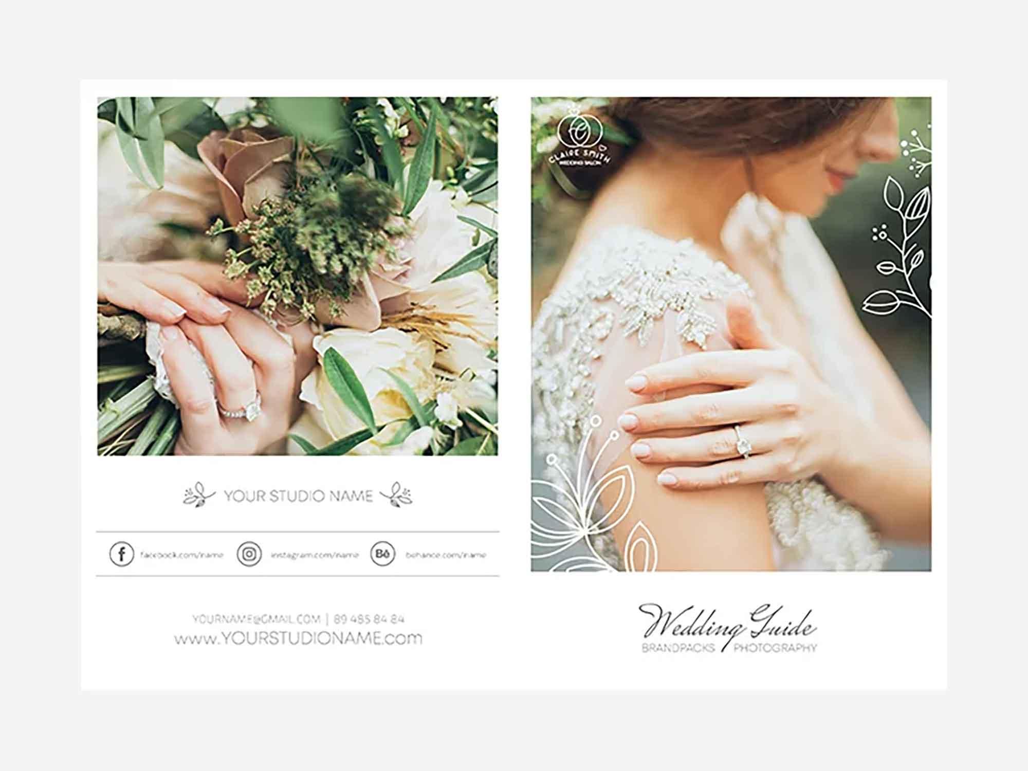 Wedding Photography Bifold Template 2