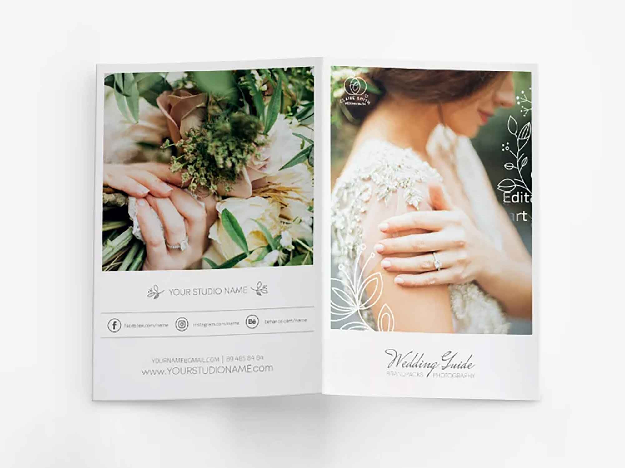 Wedding Photography Bifold Template