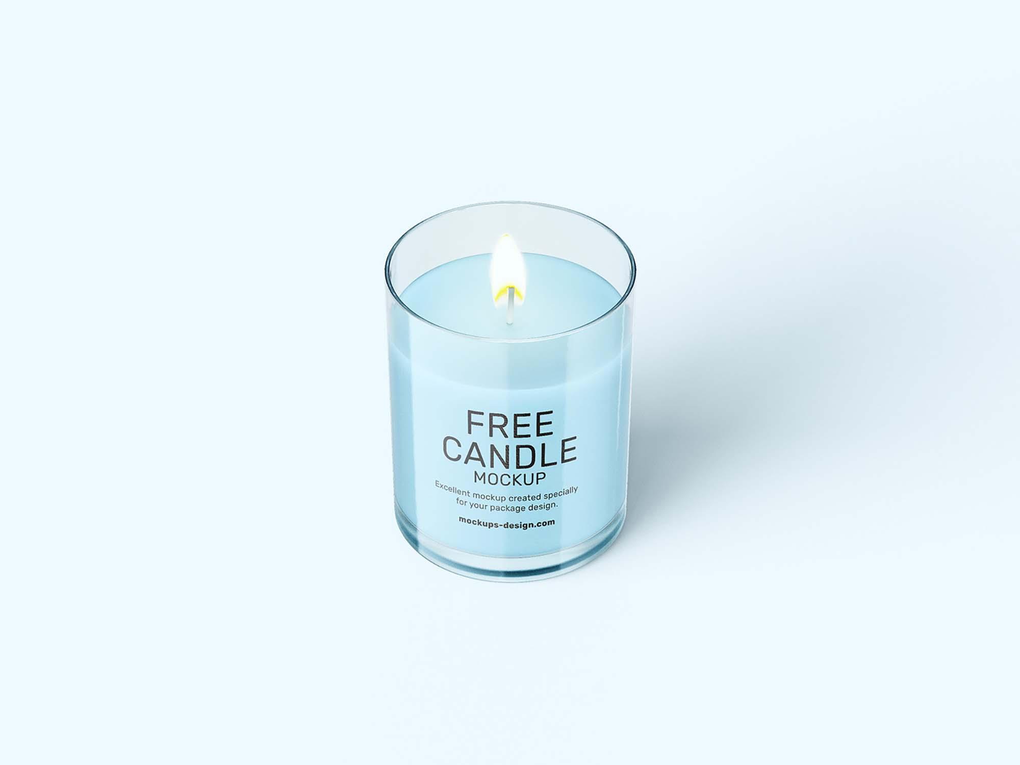 Candle Mockup 3