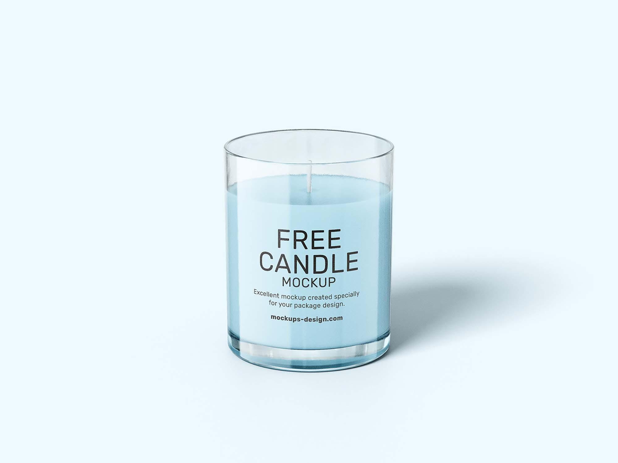 Candle Mockup 5