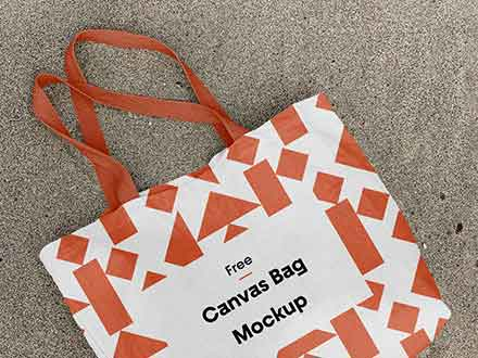 Cotton Canvas Bag Mockup