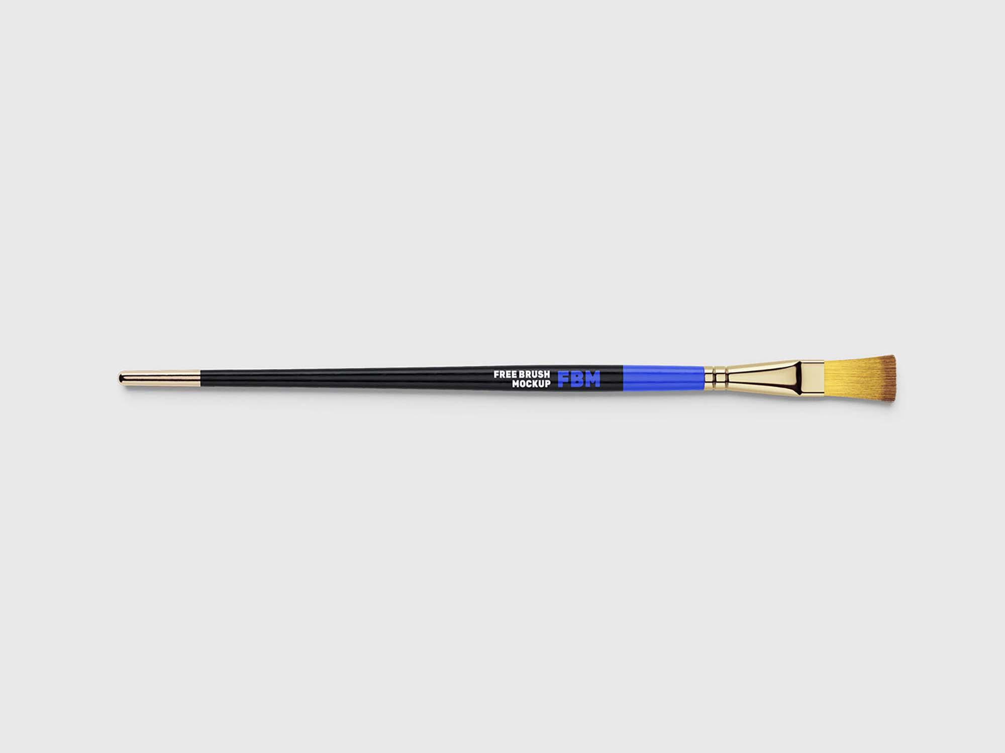 Paint Brushes Mockup 1