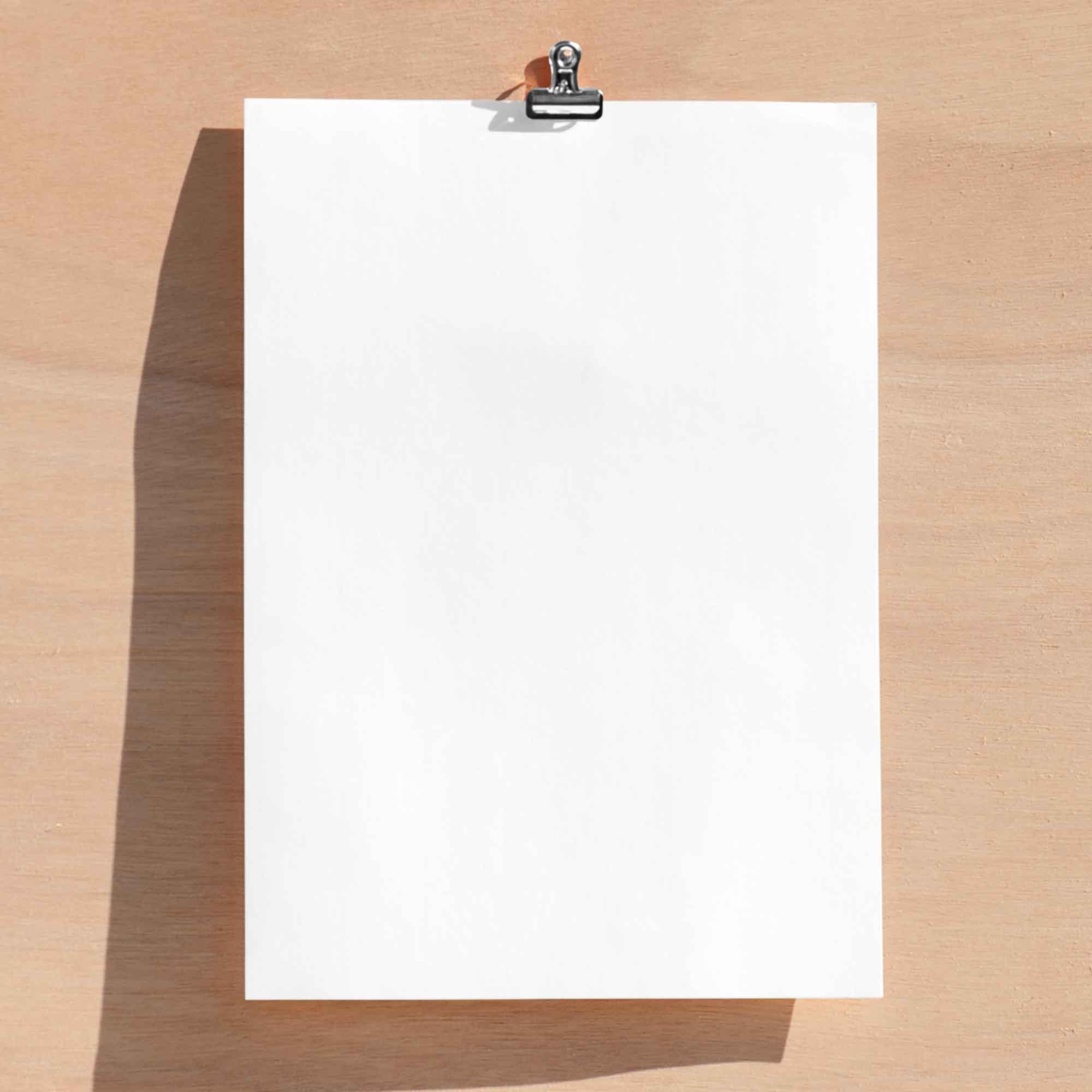 Paper Card Mockup 2