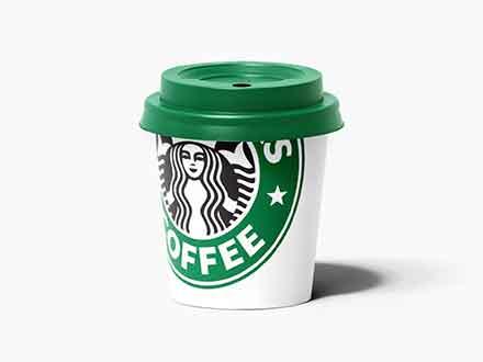 Paper Espresso Cup Mockup