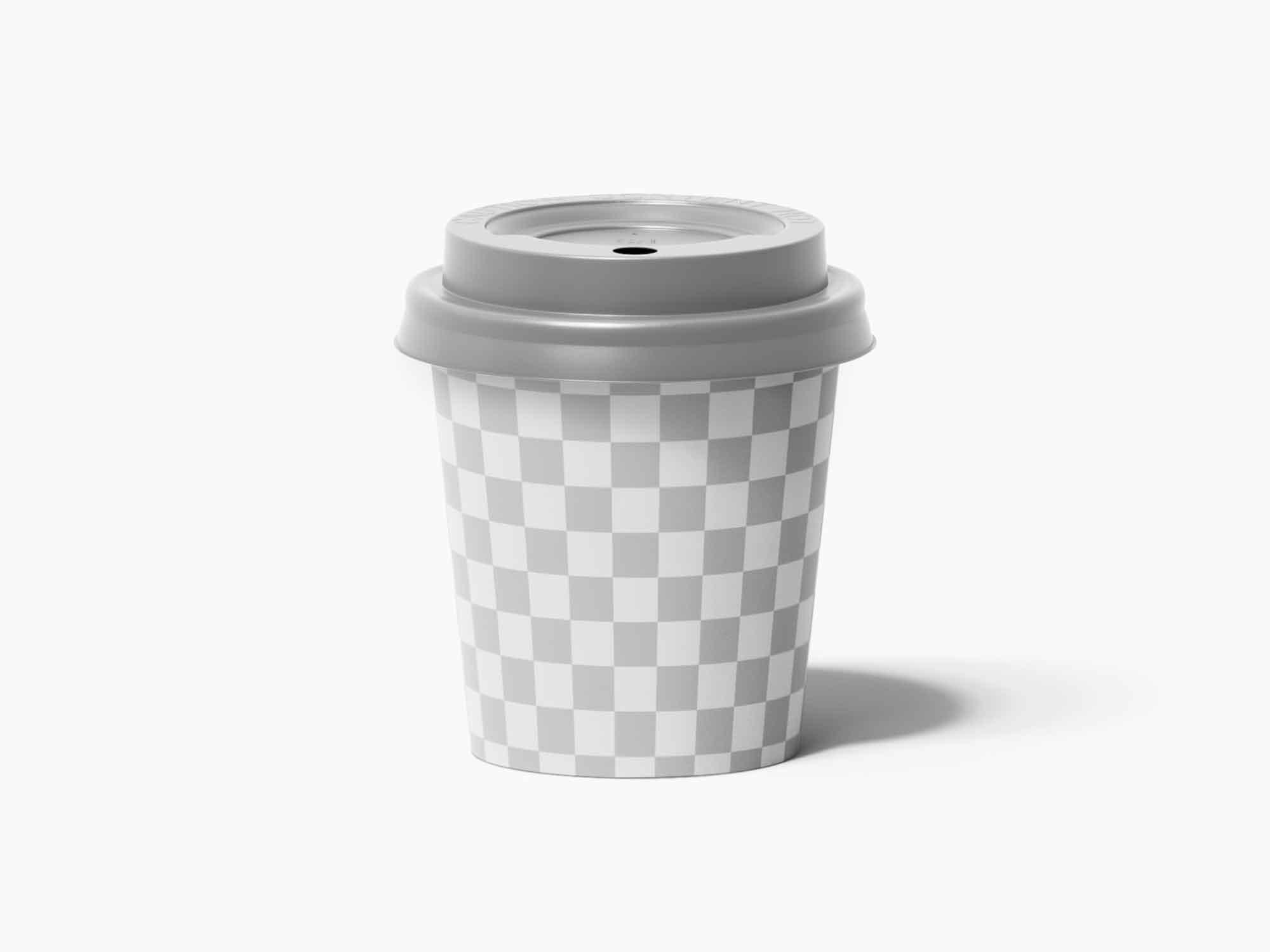 Paper Espresso Cup Mockup 2