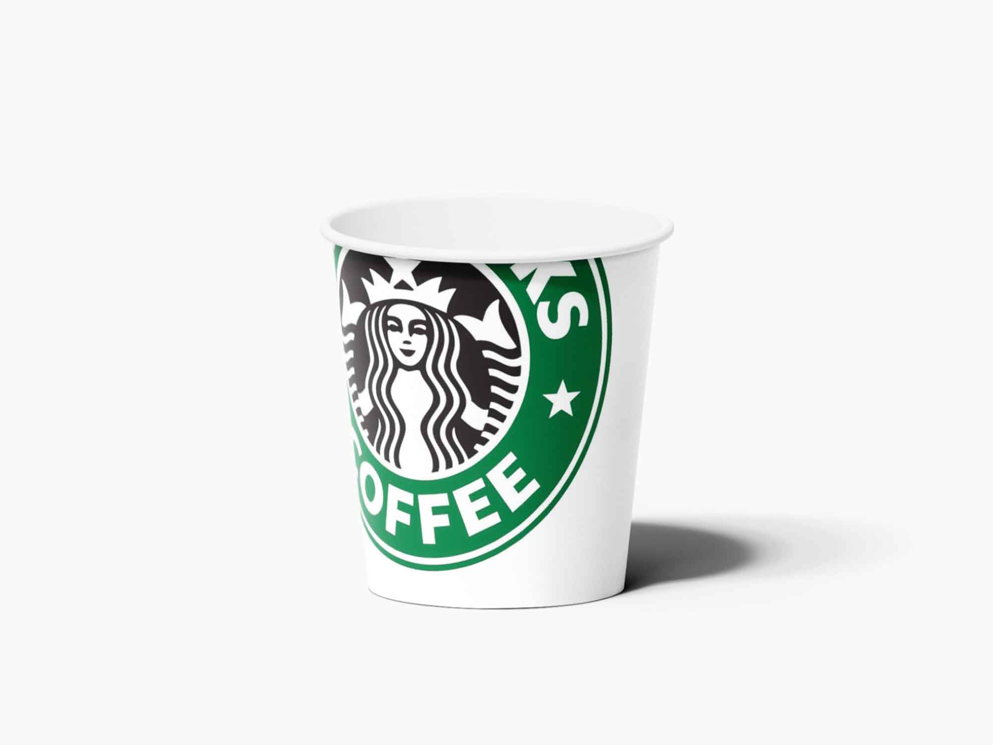 Paper Espresso Cup Mockup 3