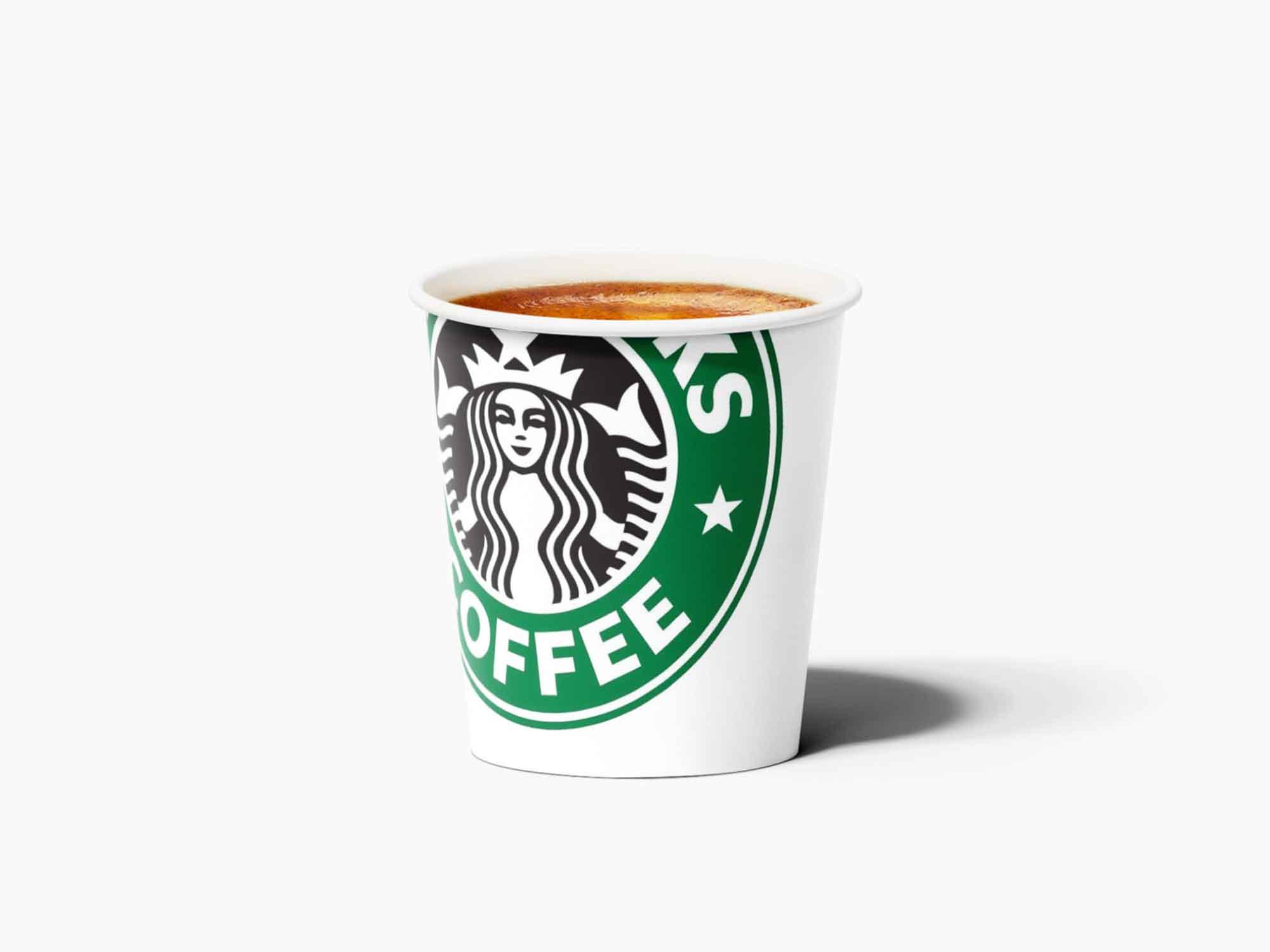 Paper Espresso Cup Mockup 1