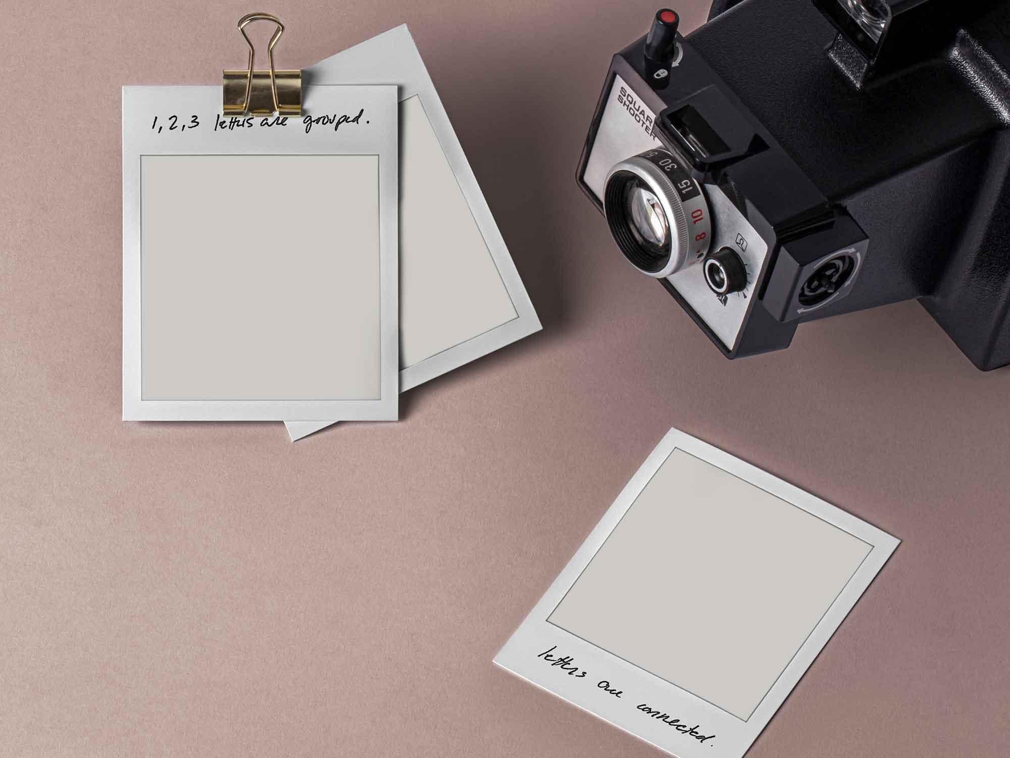 Polaroid Mockup Frames 2
