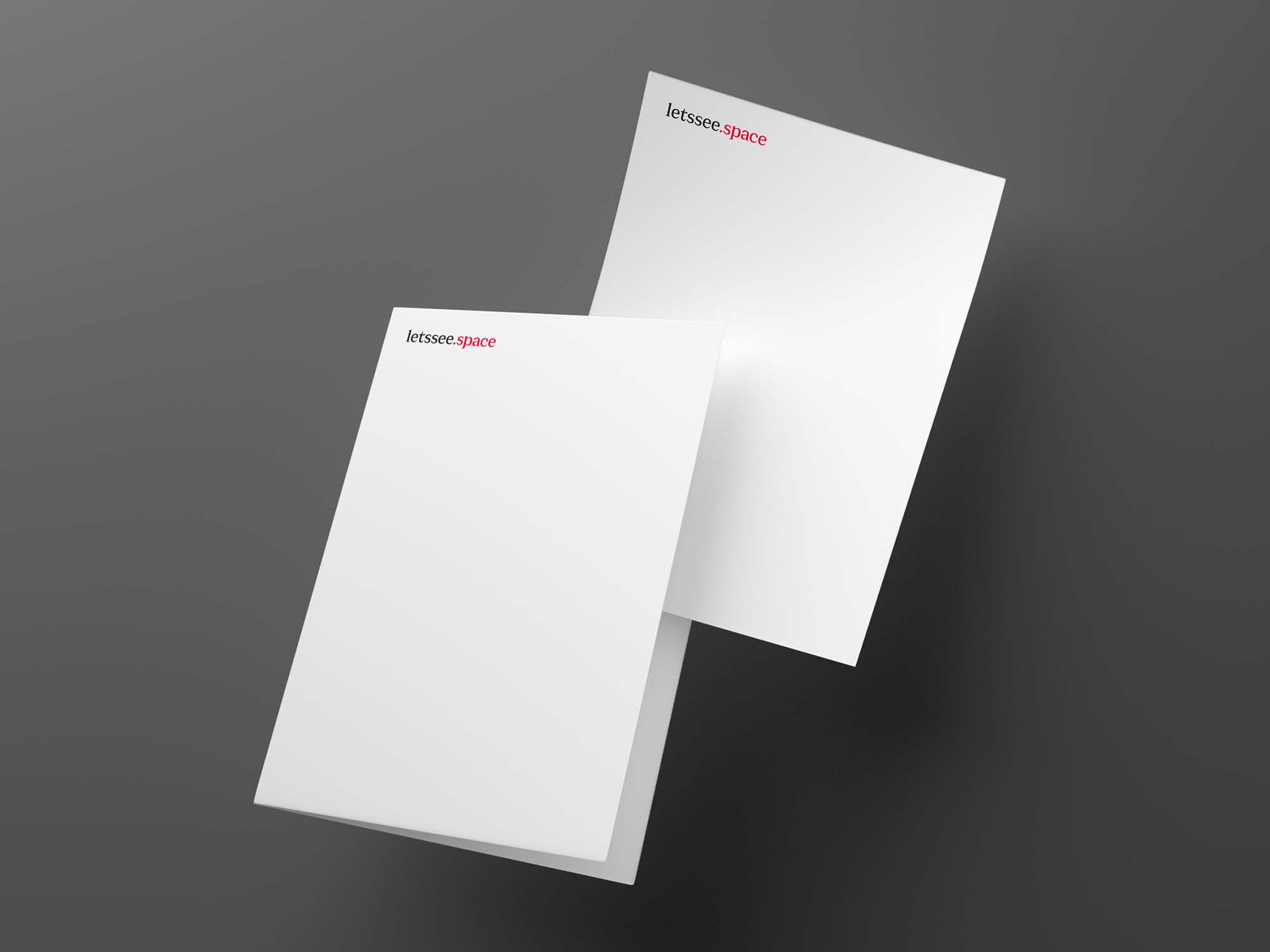 Blank Papers Mockup