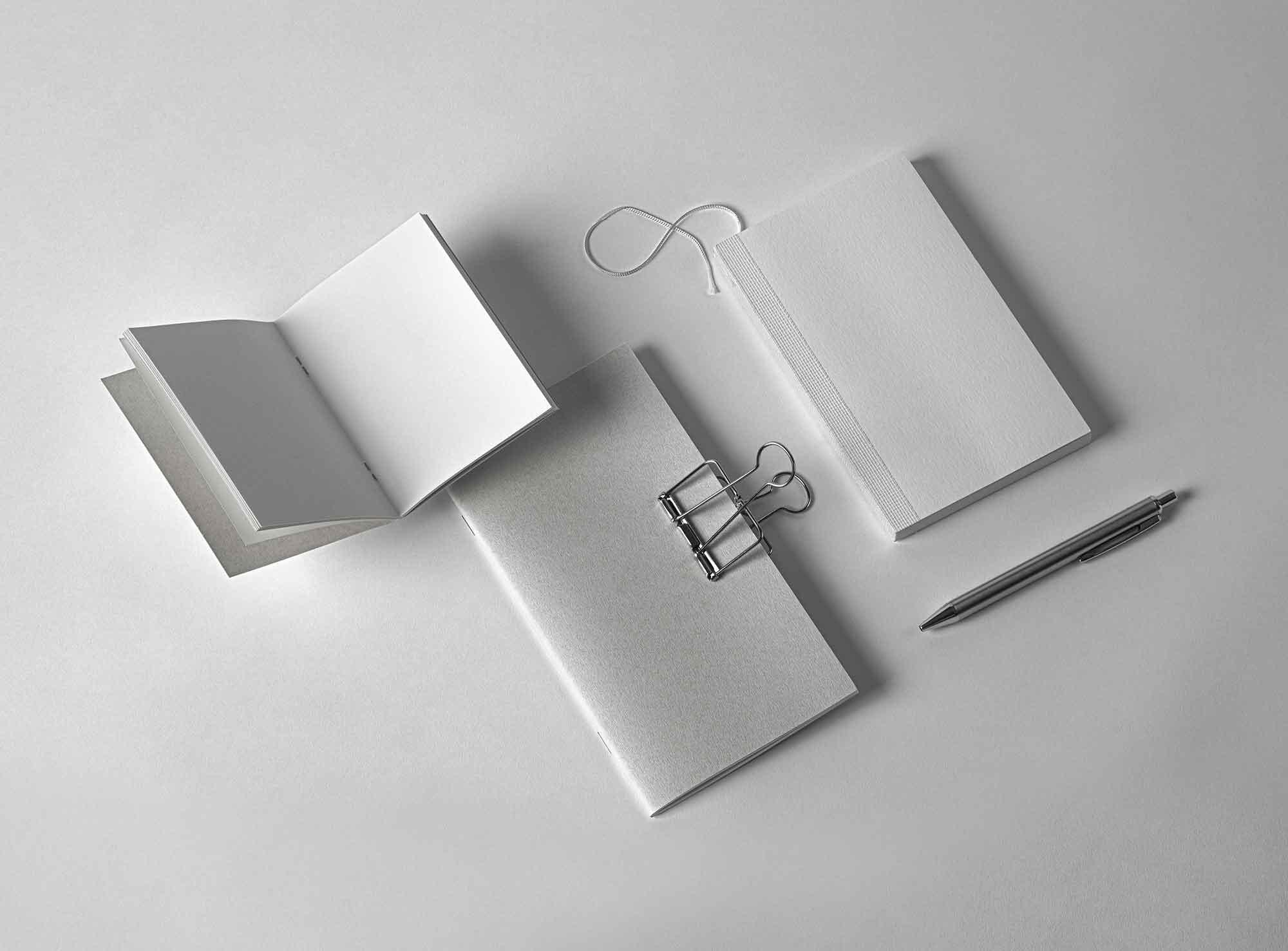 Booklet Notebook Mockup 2