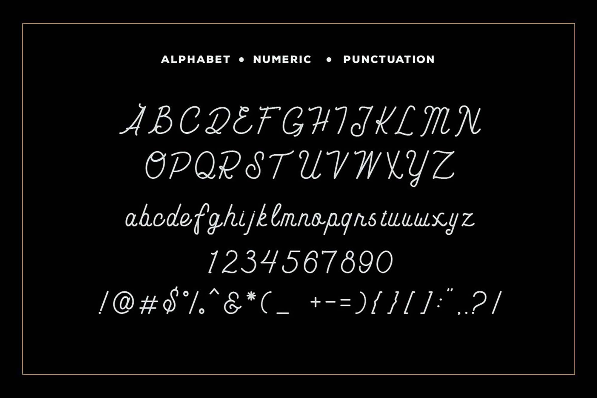 Carimba Monoline Script 2