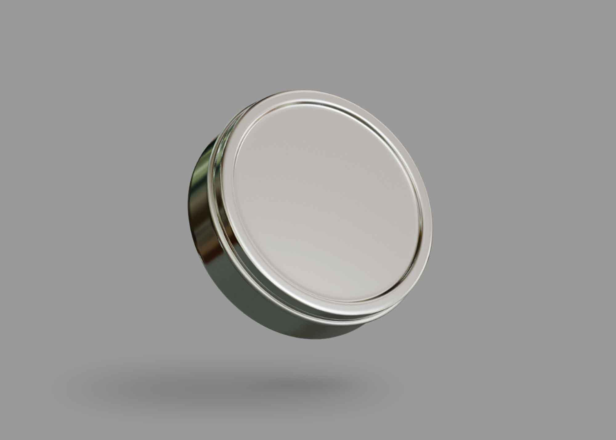 Cosmetic Tin Jar Mockup 2