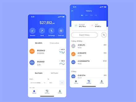 Crypto Exchange App Template