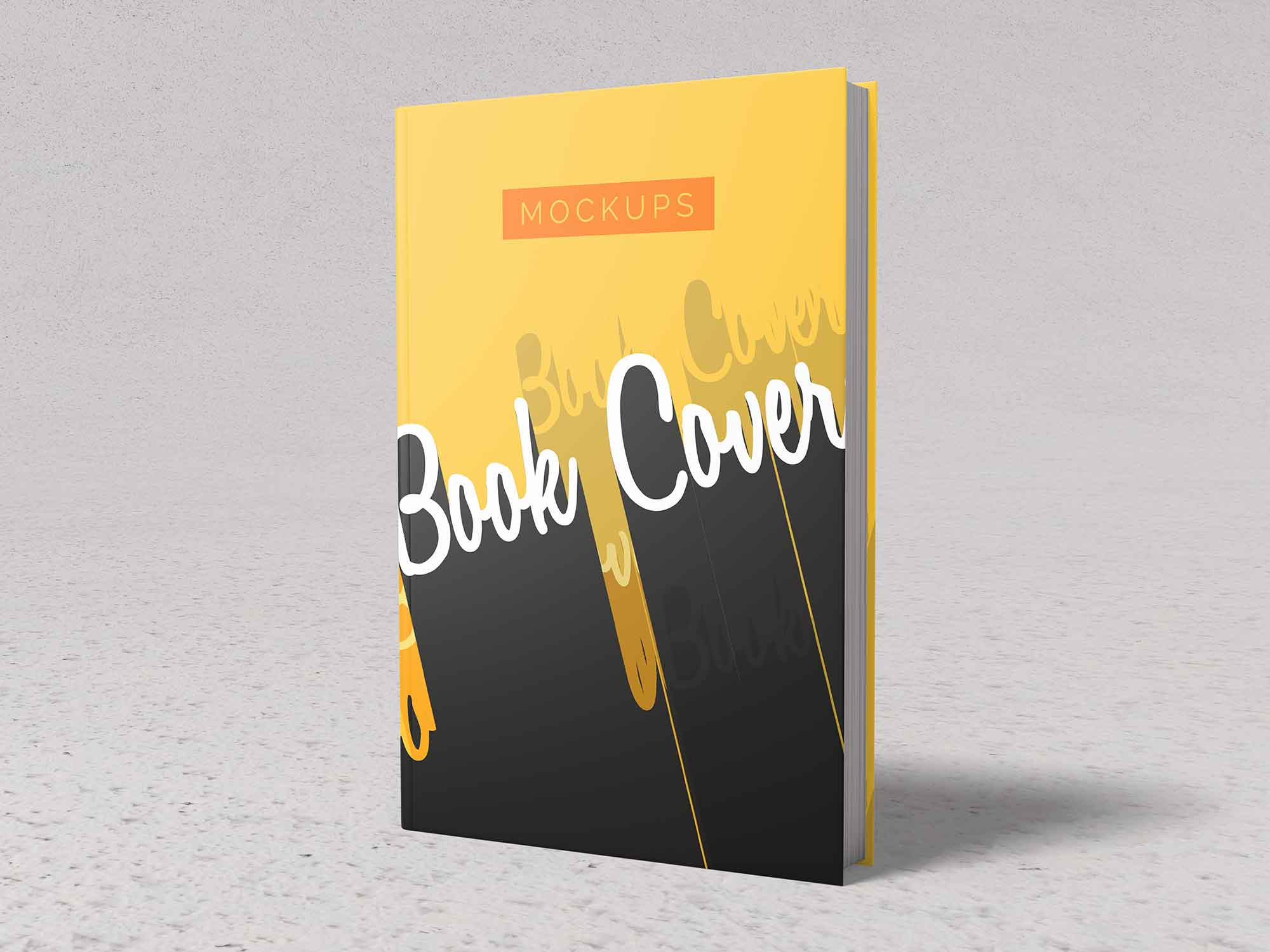 Front and Back Cover Book Mockup 3