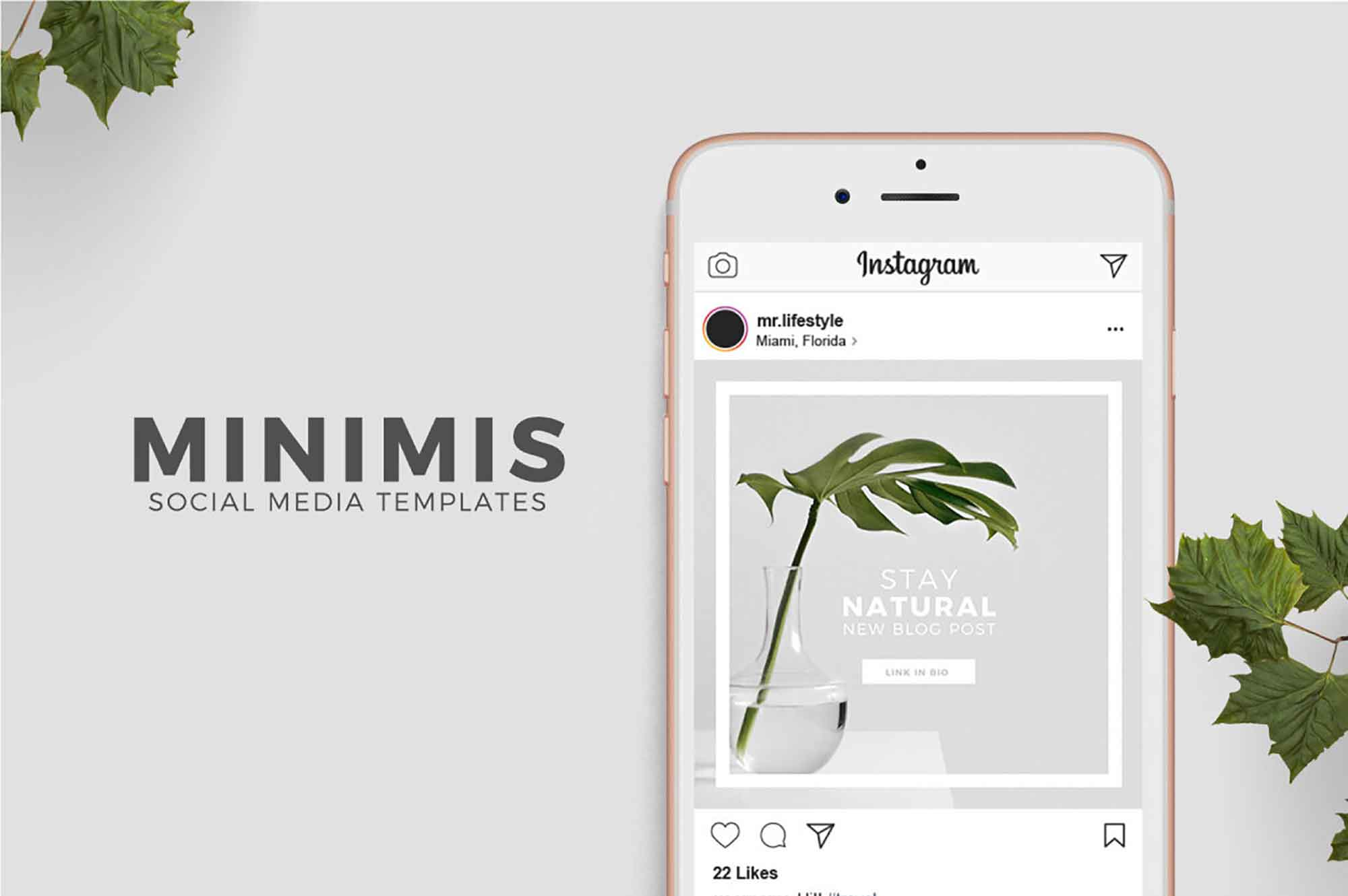Instagram Social Media Templates