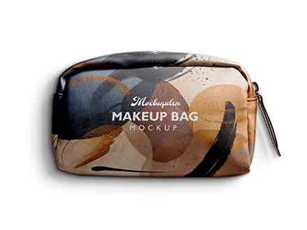 Makeup Bag Mockup