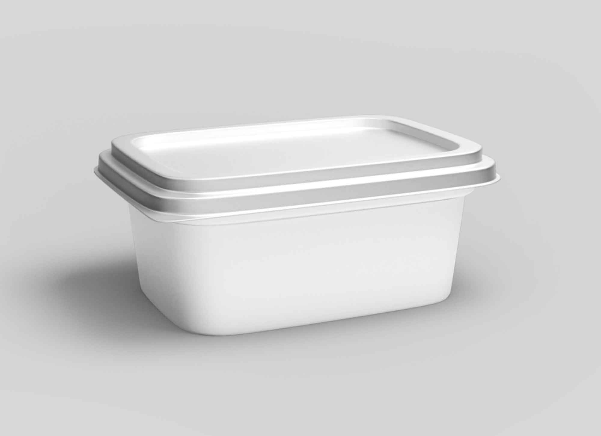 Plastic Food Container Mockup 2