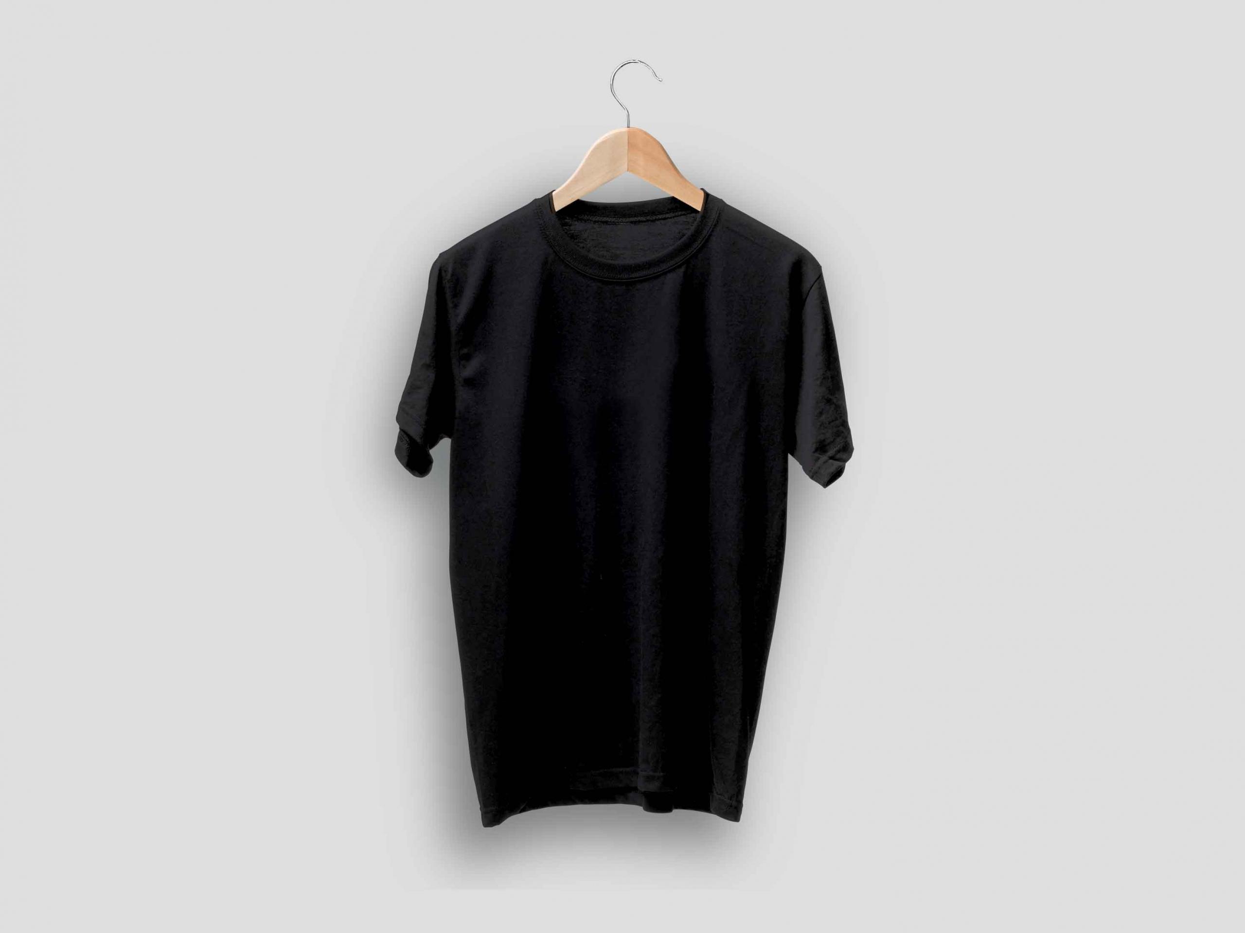 T-shirt Set on Hanger Mockup 2