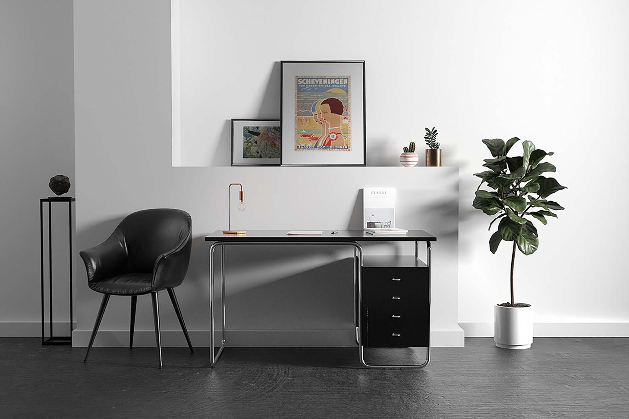 Workspace Poster Mockup