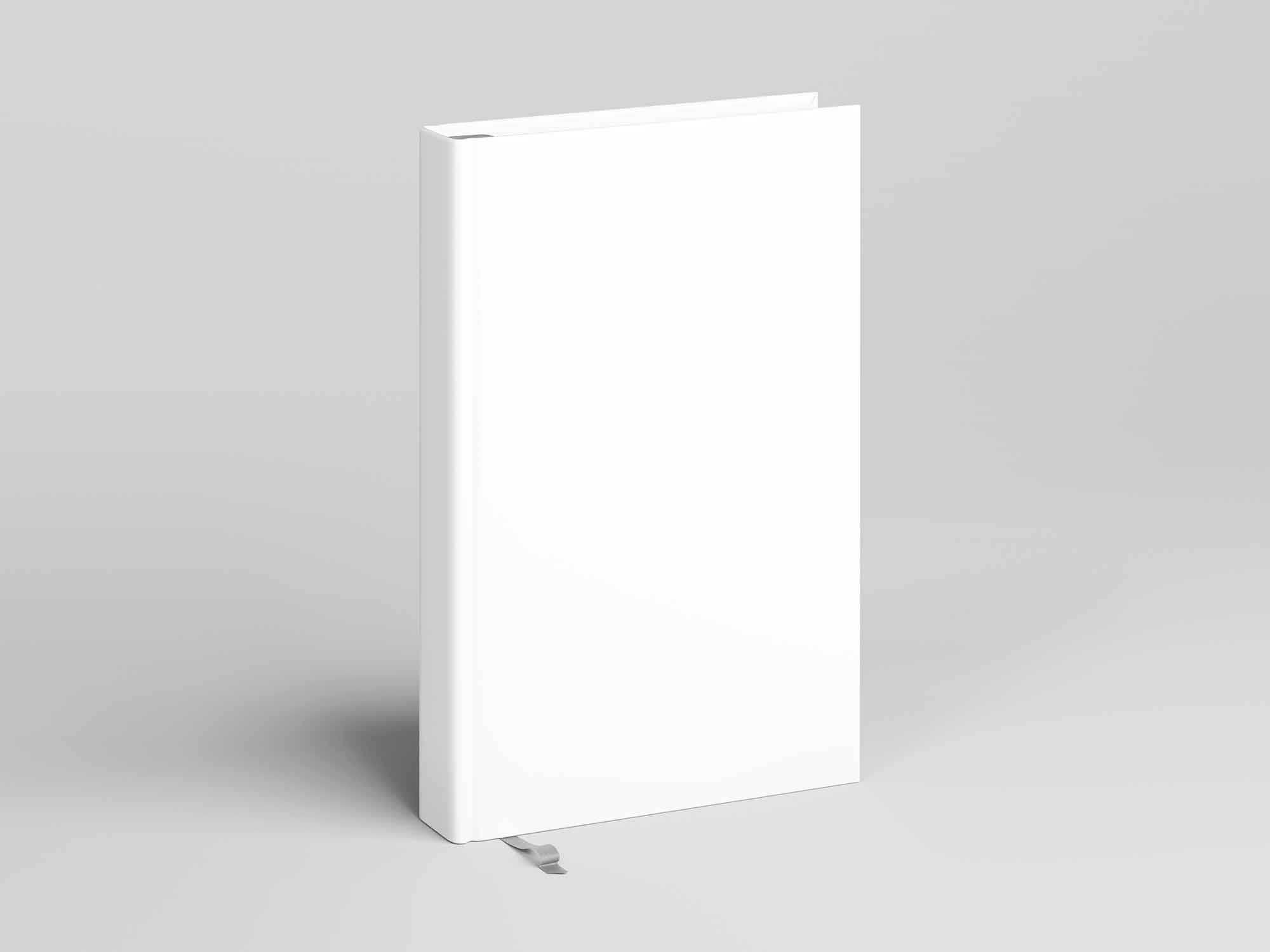 Standing Hard Cover Book Mockup 2