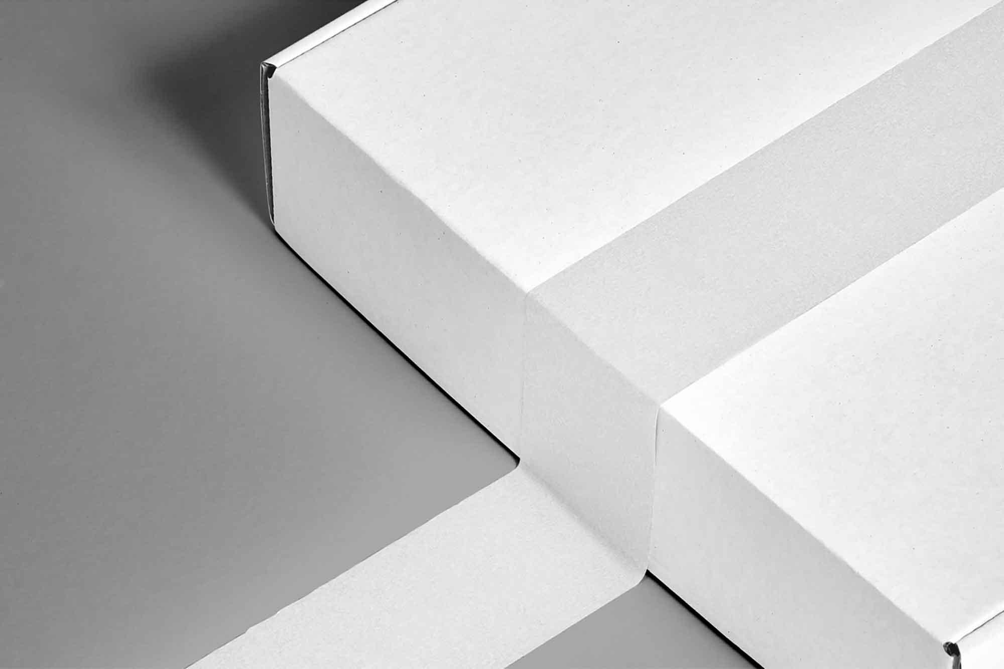 Box with Tape Mockup 2