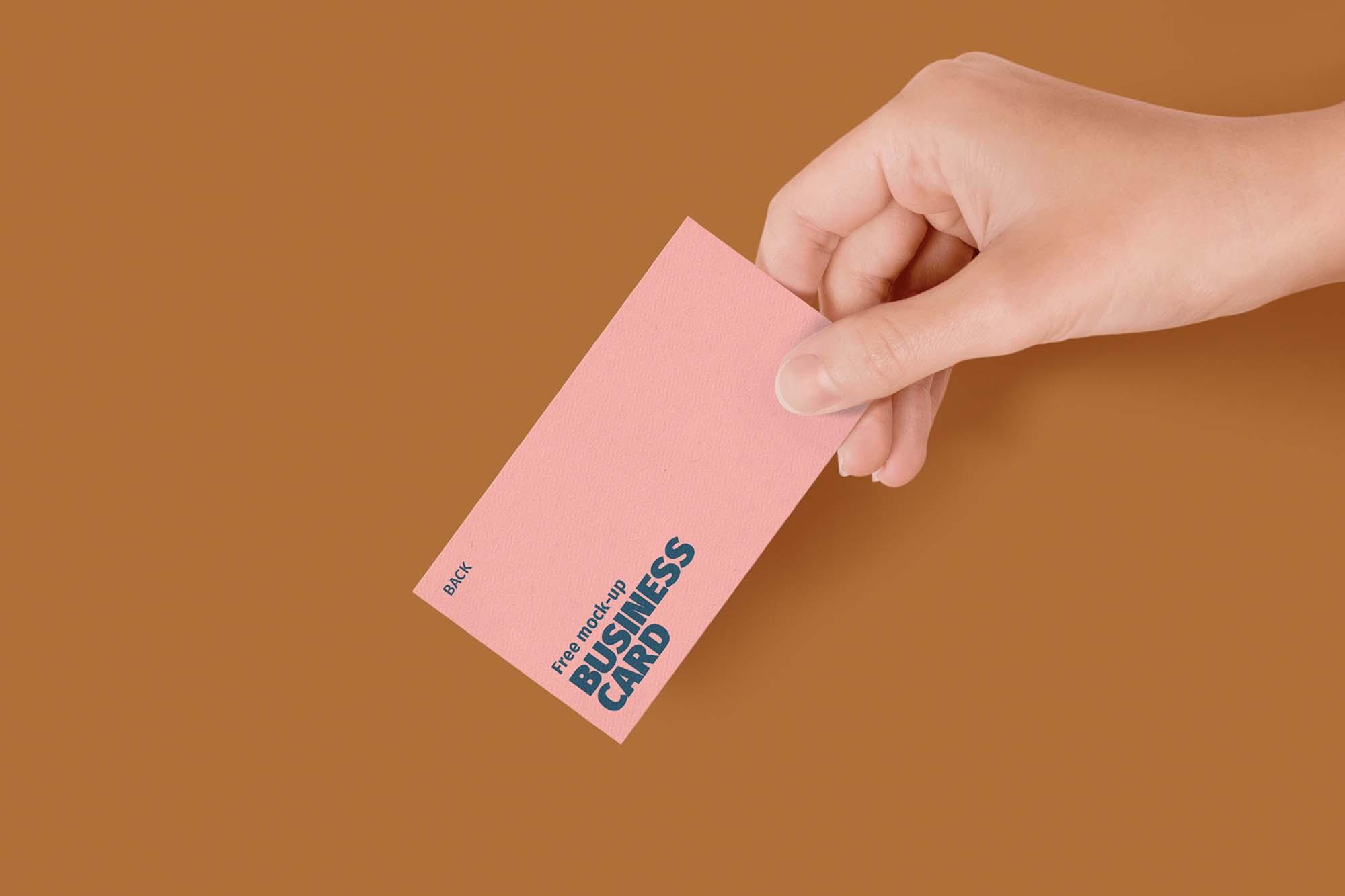 Business Card Mockup 5