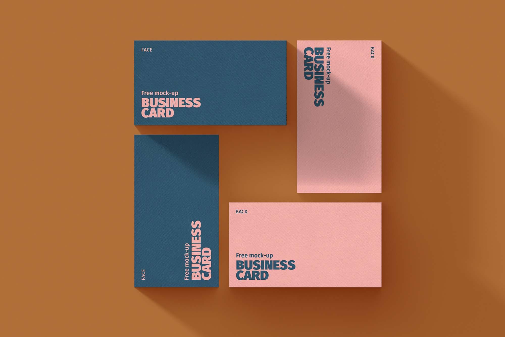 Business Card Mockup 8