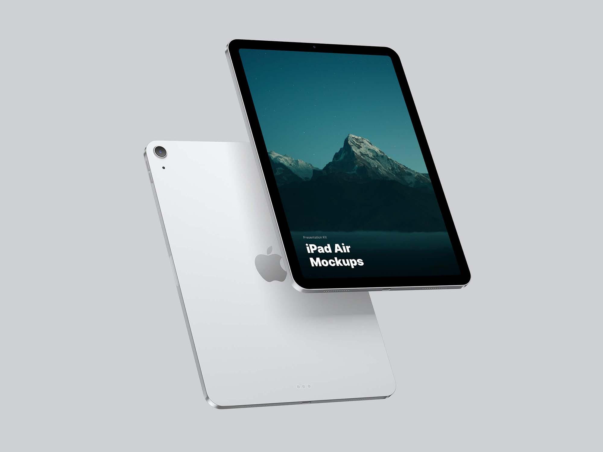 iPad Air Mockup 2