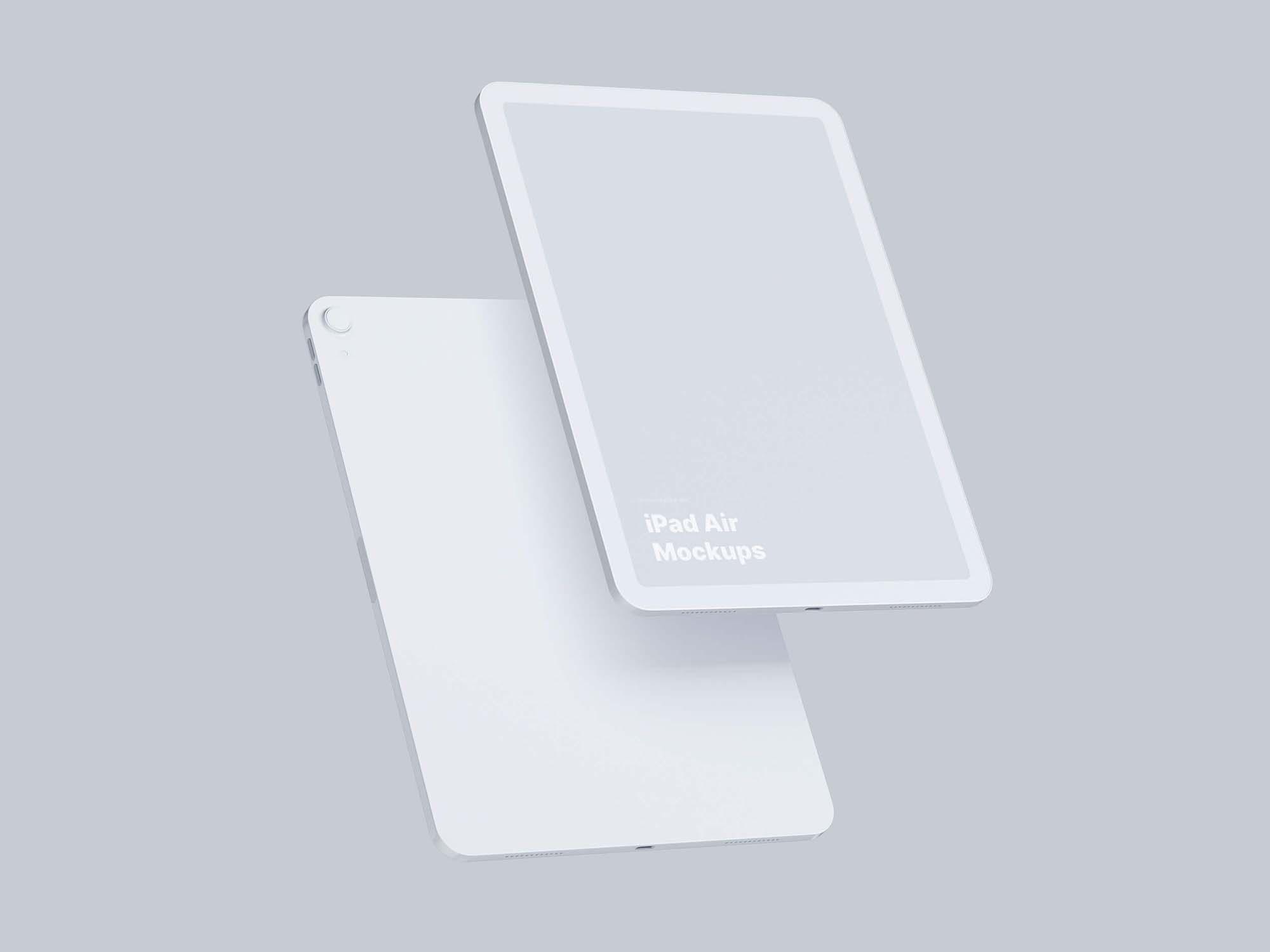 iPad Air Mockup 3
