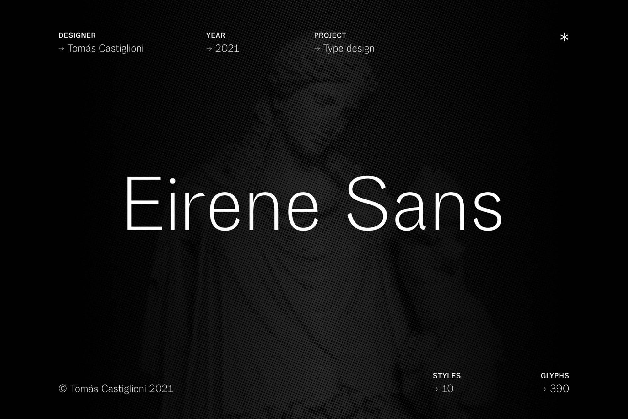 Eirene Sans Font
