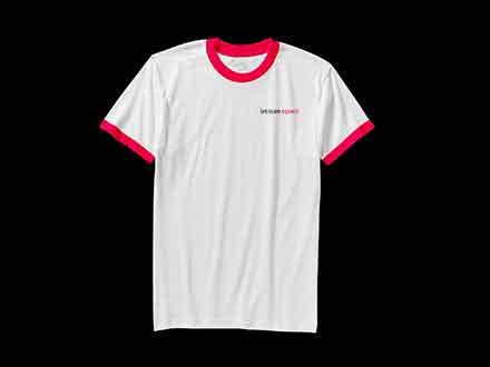 Single T-shirt Mockup