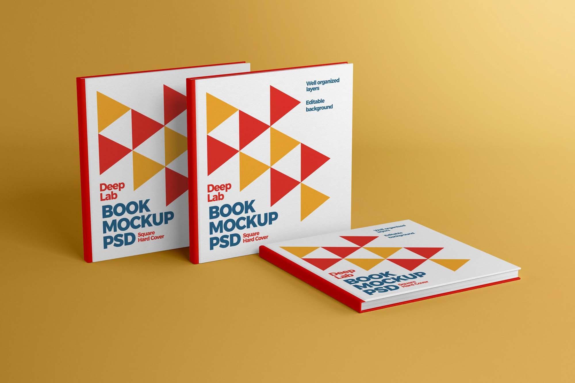 Square Hardcover Book 2