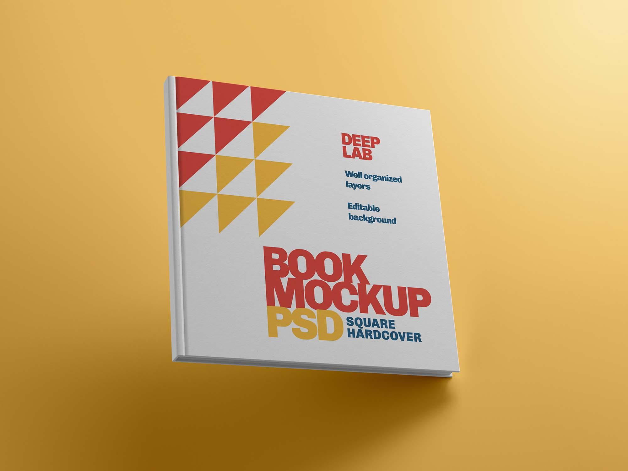 Square Hardcover Book