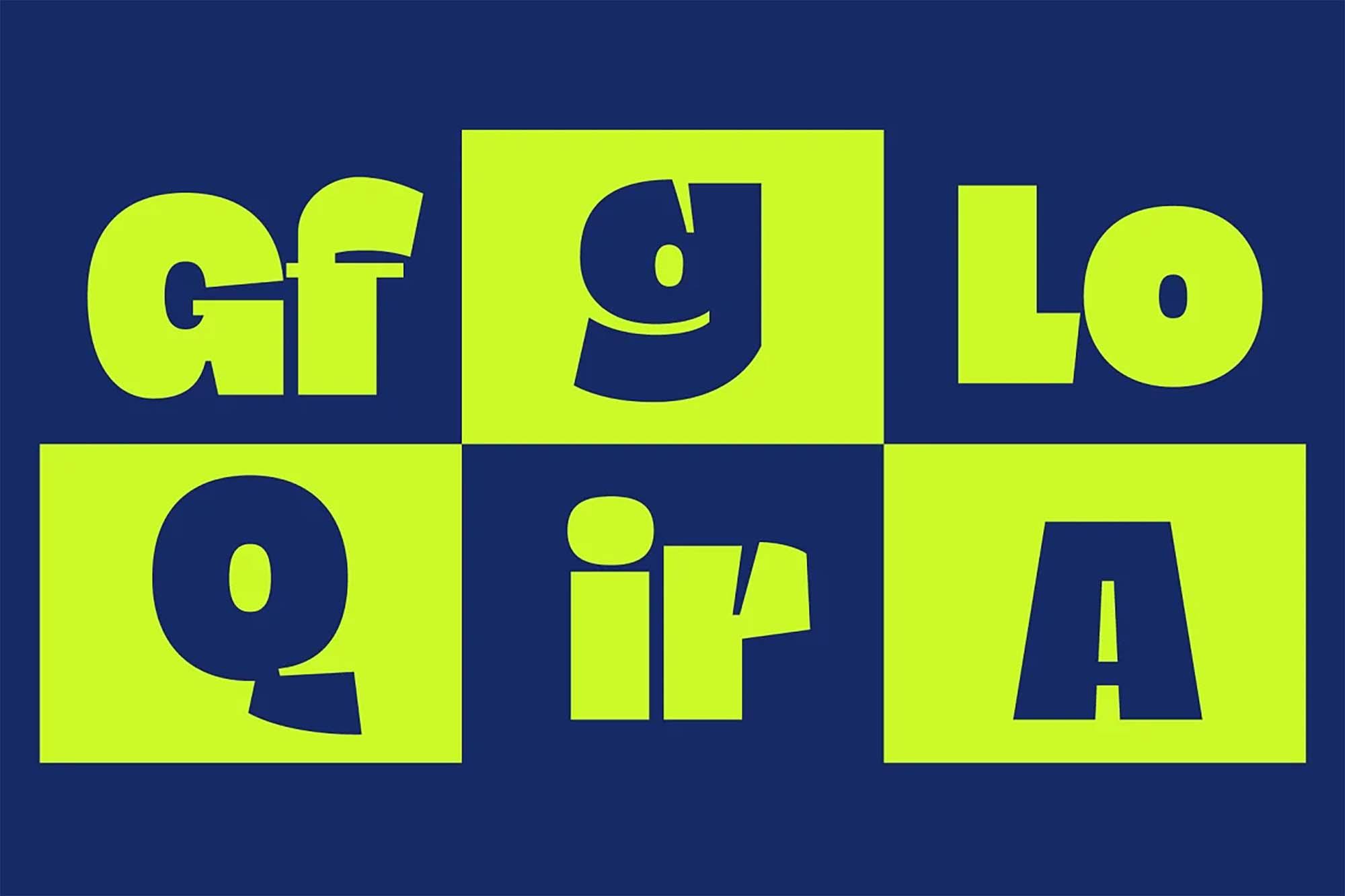 Blogh Display Font 4