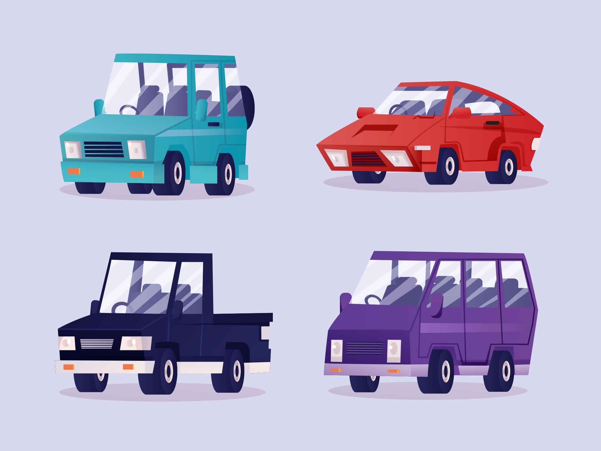 Car Vector Illustrations 2