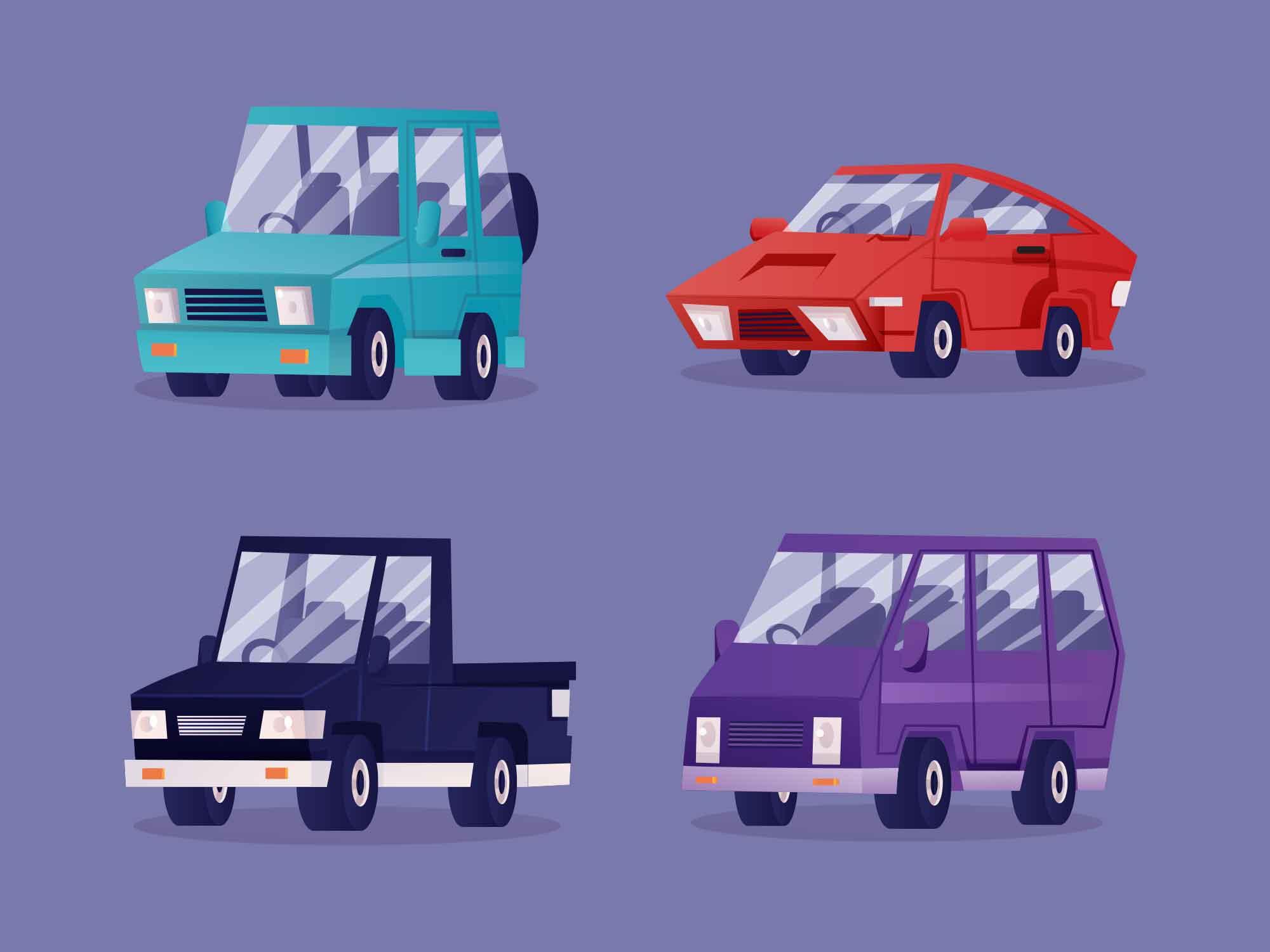 Car Vector Illustrations