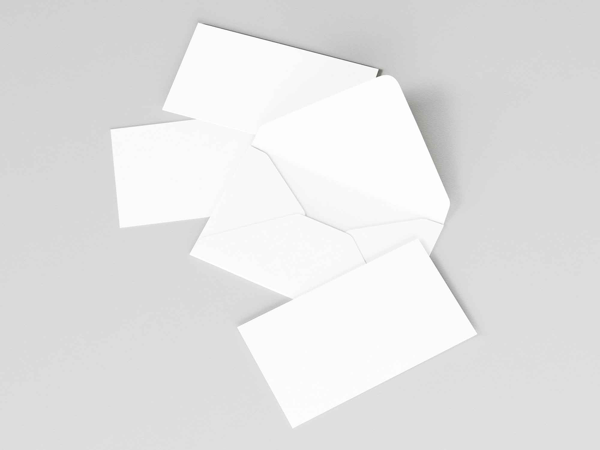 Envelope and Business Cards Mockup 2