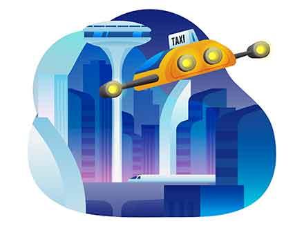 Future City Illustration