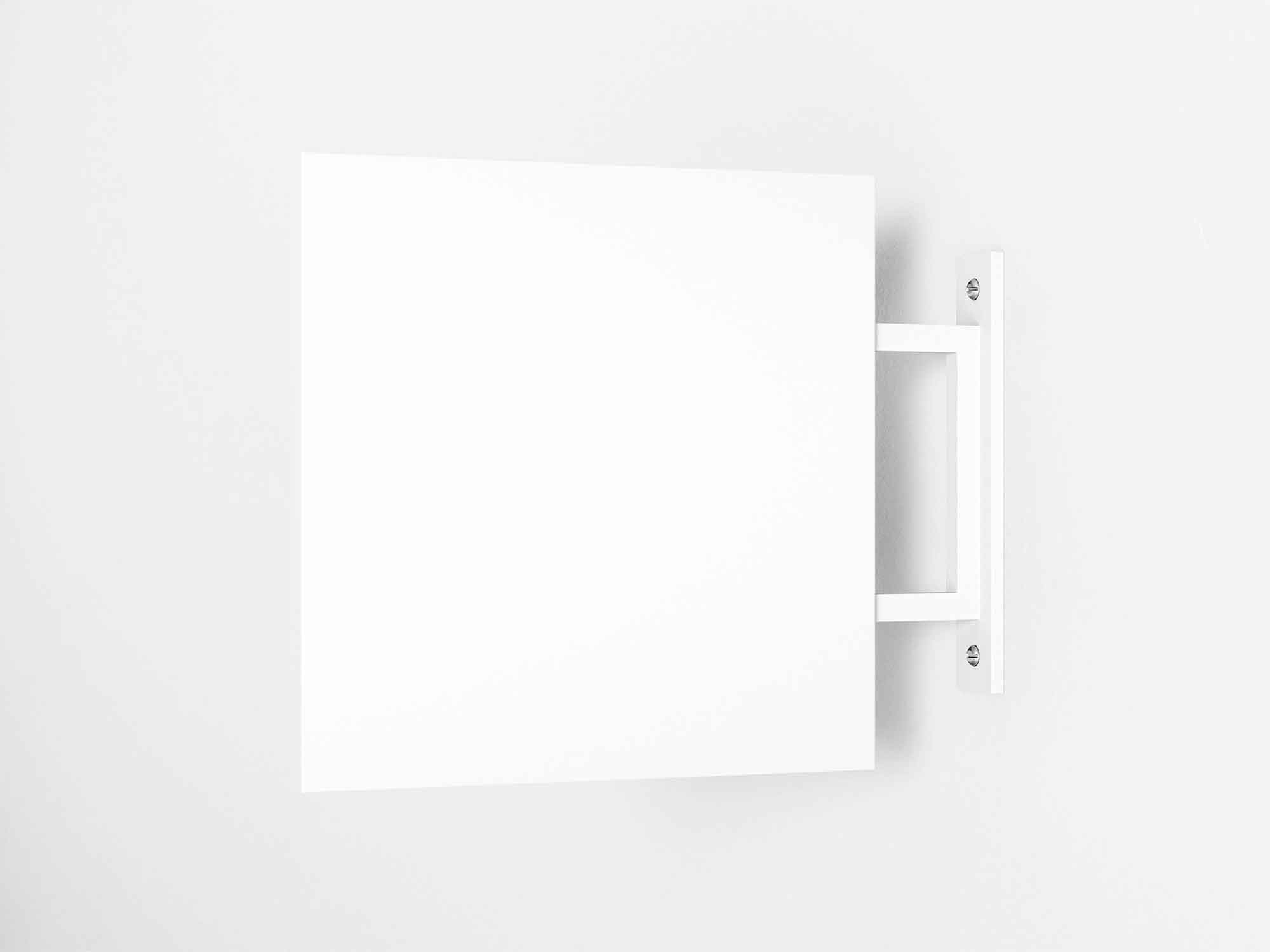 Minimalistic Wall Sign Mockup 2