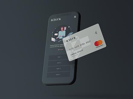Online Payment Mockup