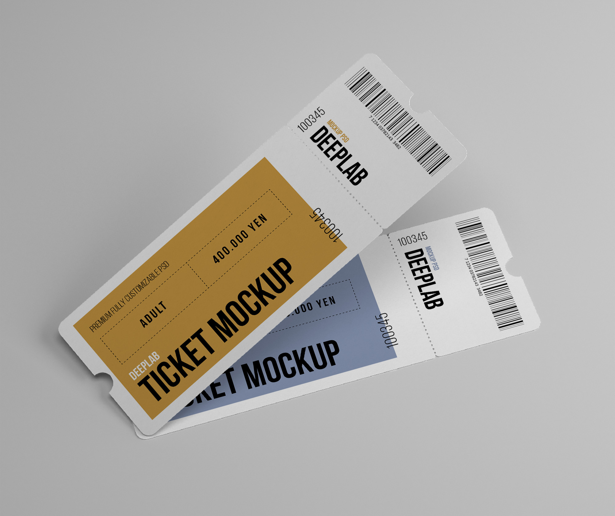 Tickets Mockup