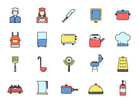 Chef Vector Icons