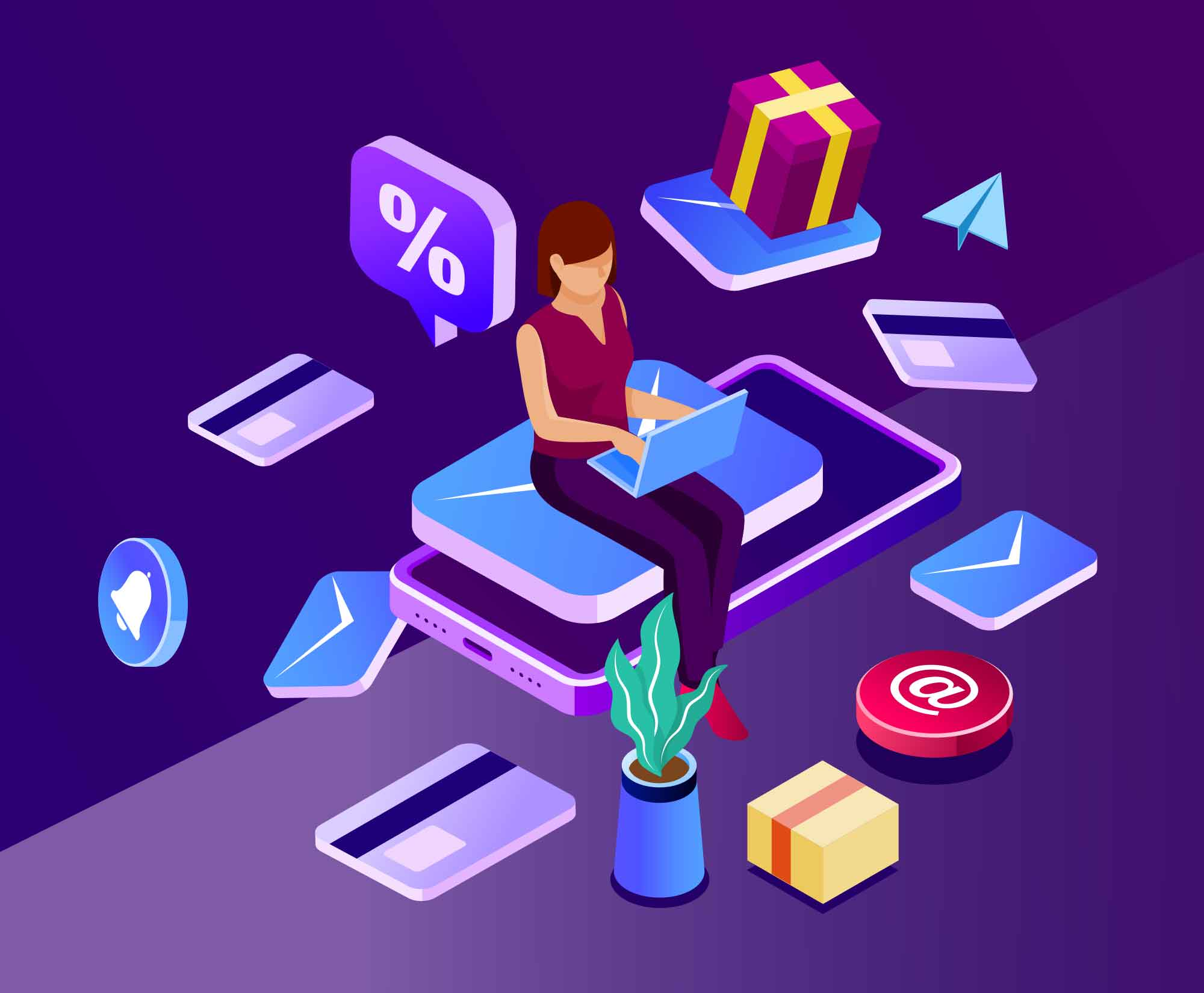 Email Marketing Illustration 2