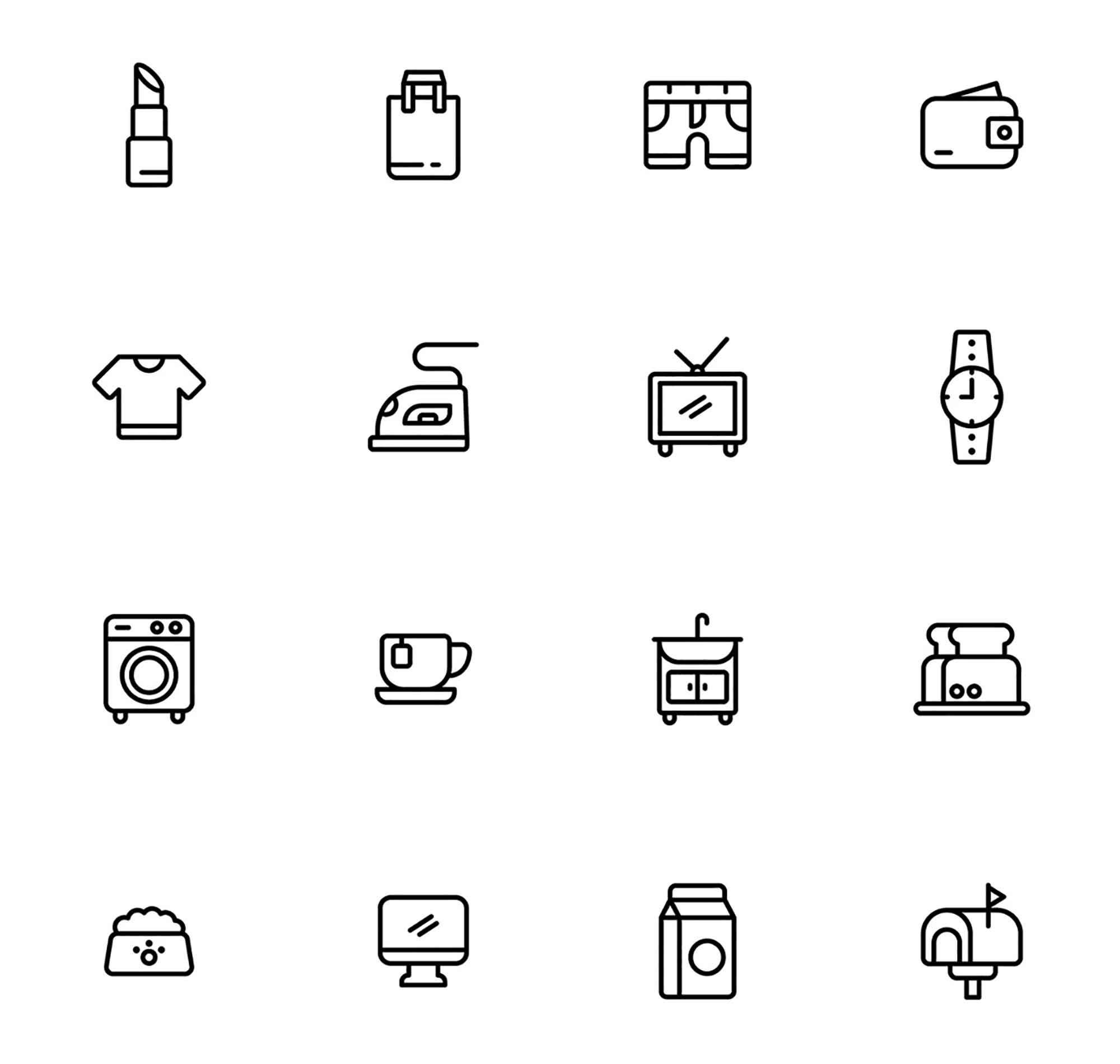 Everyday Stuff Icons